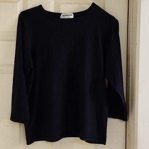 Dark Navy blue Pendleton shirt XL